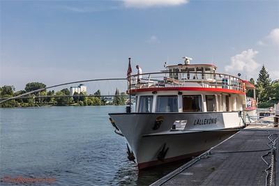Dreiländereck und Rheinhafen Basel