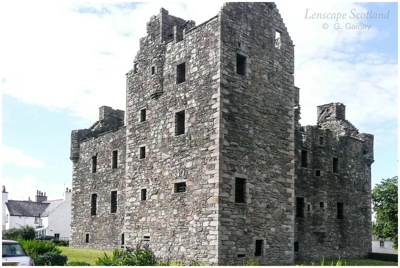 McLellan Castle, Kirkcudbright