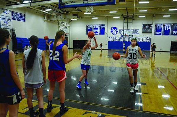Drury High School Girls Basketball