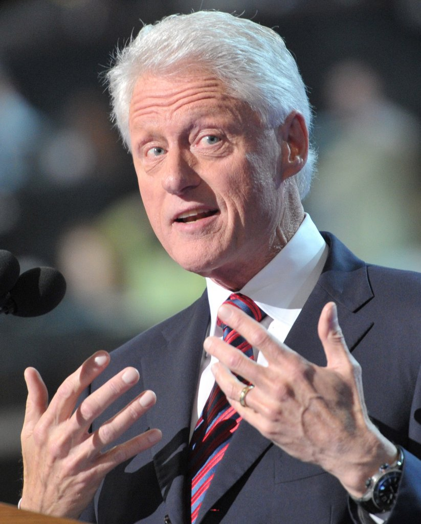 """. <p>5. BILL CLINTON <p>�Wouldn�t be surprised� if aliens exist. Wouldn�t be surprised if he�s already bedded a few. (unranked) <p><b><a href=\'http://www.nydailynews.com/news/politics/bill-clinton-universe-article-1.1744087\' target=\""""_blank\""""> HUH?</a></b> <p>    (Nladen Antonov/AFP/GettyImages)"""