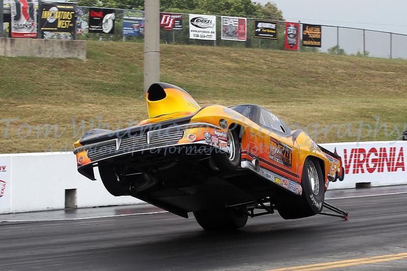Ronnie Davis lift off at Virginia Motorsports Park.