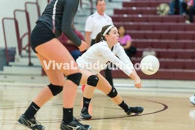 Volleyball: Warren County vs. Rock Ridge 11.3.14 (by Chas Sumser)