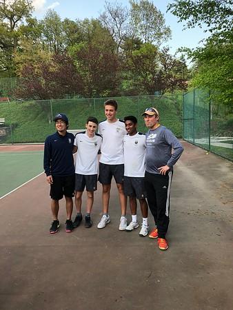 5.7.2019 Boys Tennis Senior Day