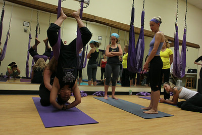 Reflex Arts Aerial Yoga Training