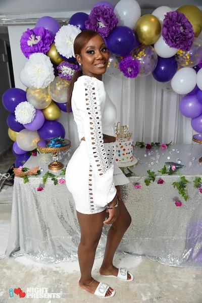 Tanisha's All White Birthday Party