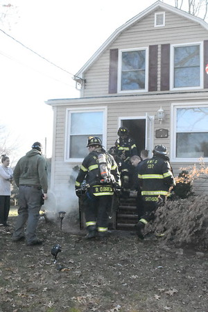 Stove Fire on James St New Milford