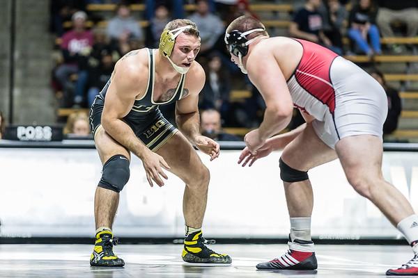 Purdue Wrestling vs IU 2017-1-13