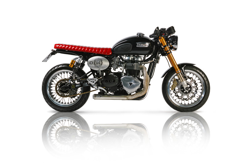 Thruxton Cafe Racer