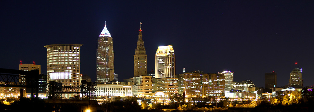 11/7/11<br /> <br /> My favorite view of Cleveland<br /> <br /> Best viewed in XL