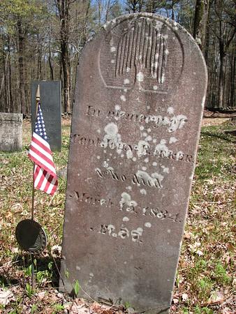 John Barker Grave