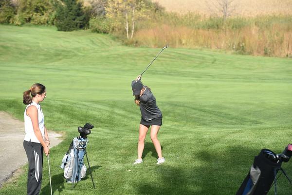 Girls Golf at Ashland Dual, 10-1-15