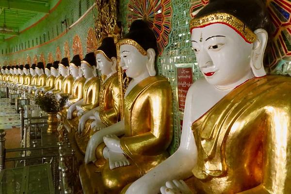 Umin Thonse Pagoda, Sagaing Hill, Mandalay