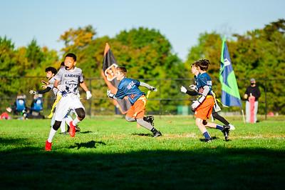2020-10-17 Bears @ Raiders U12 Aim High Flag Football