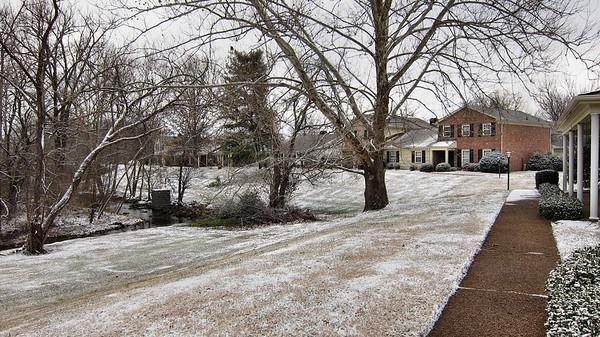 January 7, 2010, Snow in Nashville