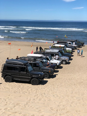 2018 Oregon G-Wagen Treffen at Lumos Wine Company and a couple of fabulous days in the Oregon Dunes