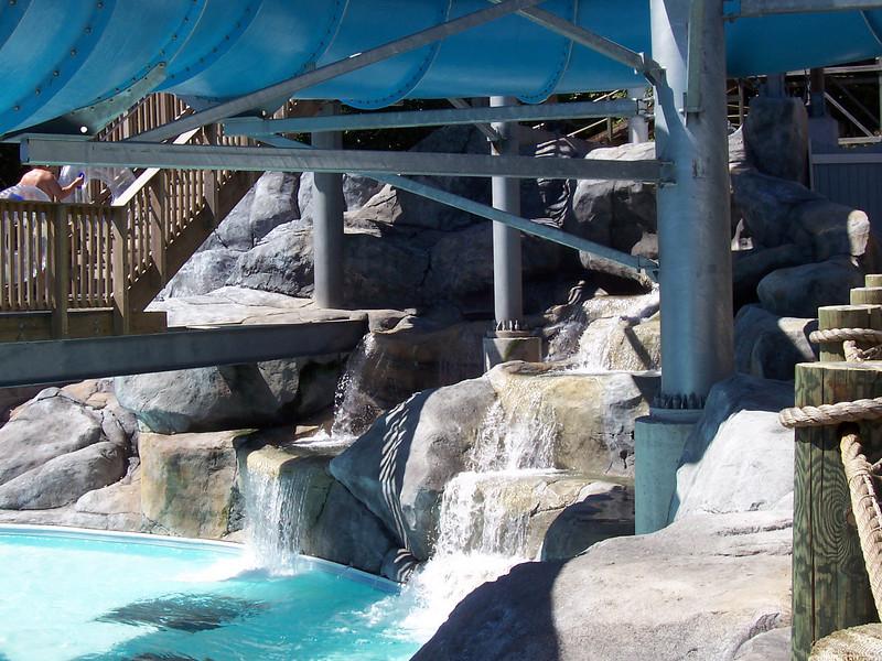 Waterfall at Anchor Bay.