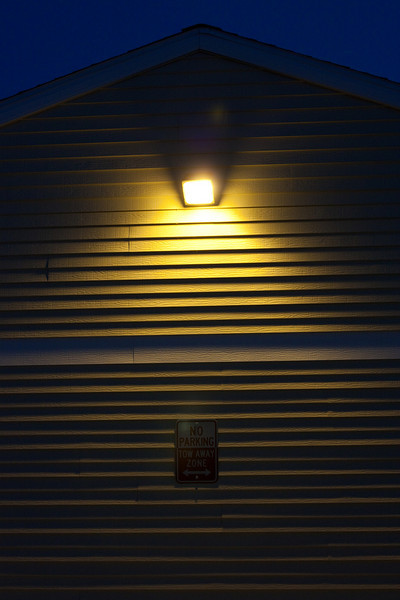 Don't park under the light.