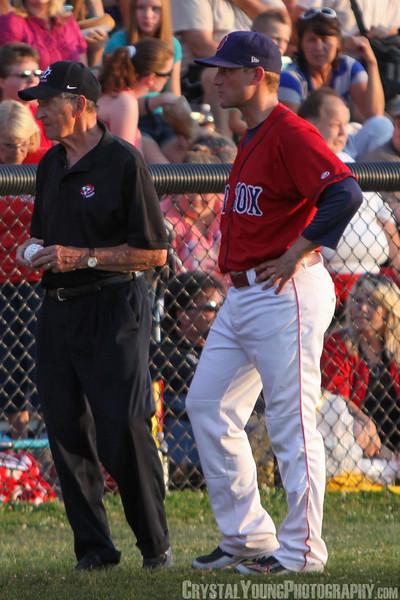 Kitchener Panthers at Brantford Red Sox July 13, 2012
