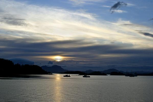 Inland Passage, SE  Alaska and British Columbia Coast