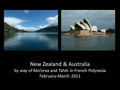 2011 Australia & New Zealand