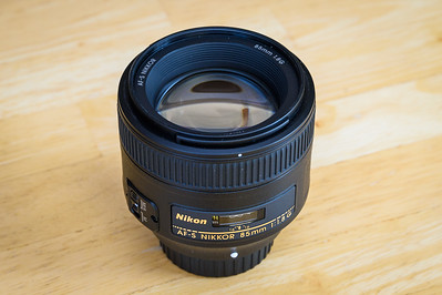 Nikon 85mm f/1.8G Lens