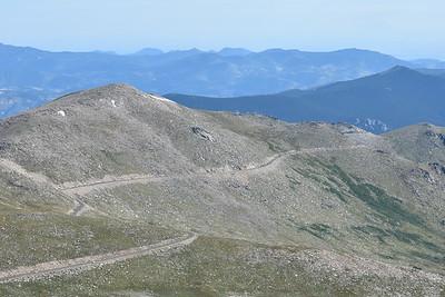 Mount Evans in August