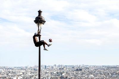 Acrobat in Paris