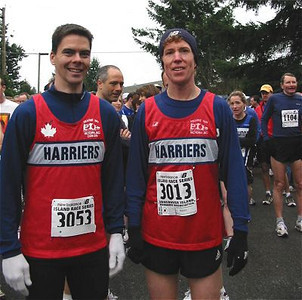 2003 Cedar 12K - Walter and Rob Before the Race