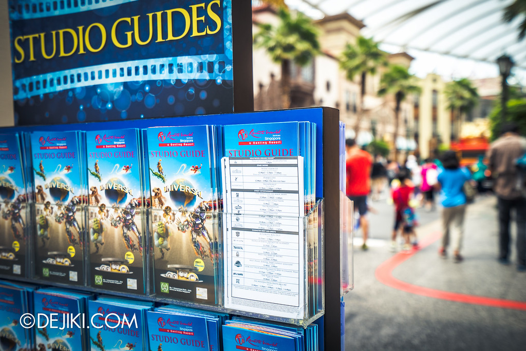 Universal Studios Singapore - Park Update May 2016 / Park Guide and Times Guide