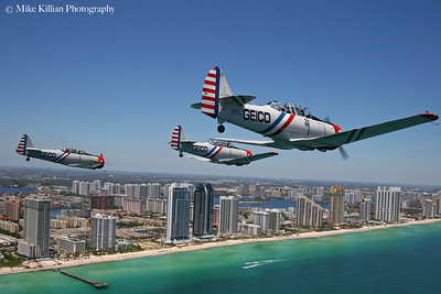 Flying With The GEICO Skytypers, 2012 Ft Lauderdale Air Show