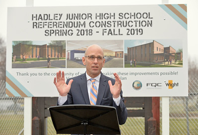 Hadley Junior High groundbreaking