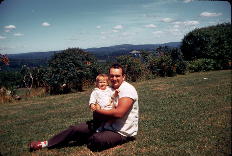daddy and baby susan in the country.jpg