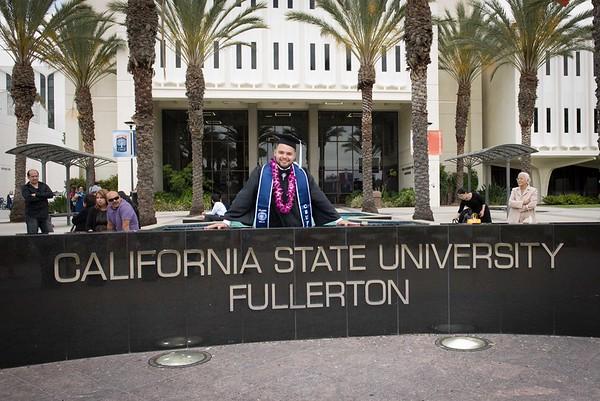 Enrique Torres CSUF Graduation