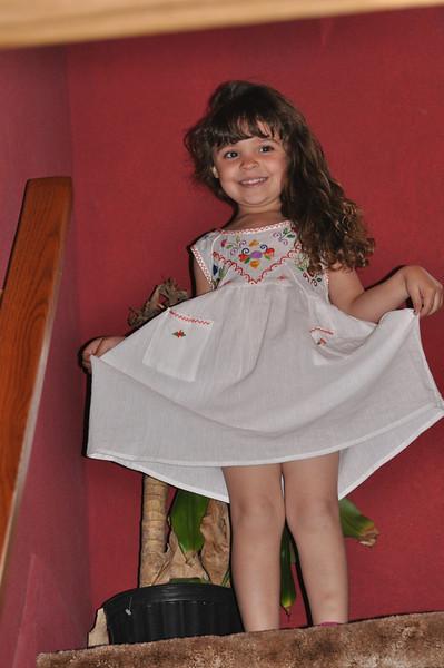Ary In her Dress From grama Carolina