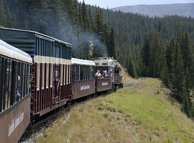 Colorado: Leadville, Colorado & Southern Railroad, 2008
