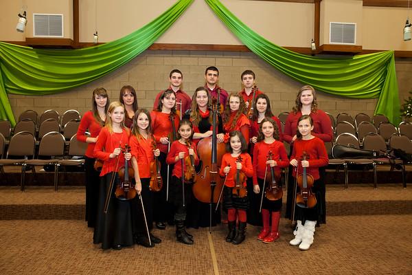 Violins 10 years