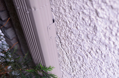 Pictures of stucco cracks - Aug 2013