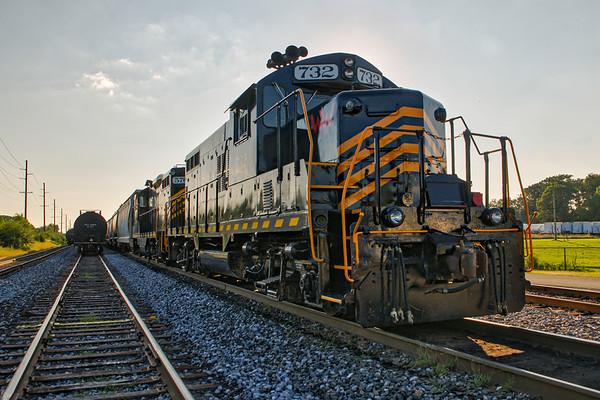 Rail Fanning in August