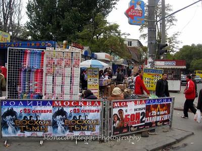 The Market in Odessa, Ukraine