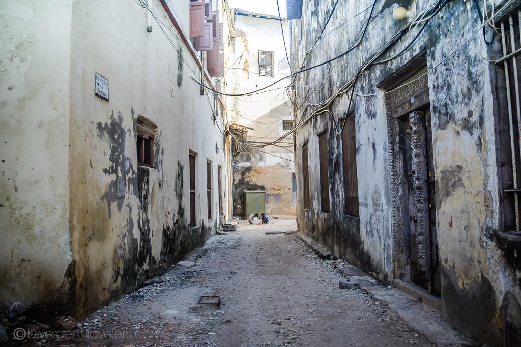 Stone Town streets, Zanzibar