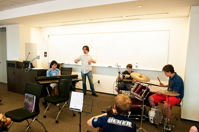 2015 Jazz Art Summer Music Camp w/John Ellis @ UNCC Uptown  by Jon Strayhorn