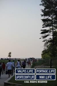 Indiana Dunes State Park Fireworks 2013