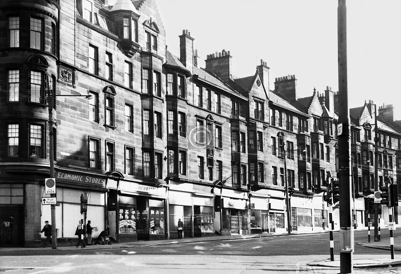 High St above George St.  May 1974
