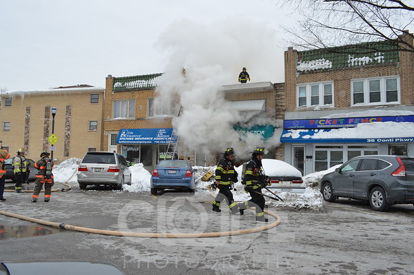 2nd Alarm Apartment Fire (2/6/15)