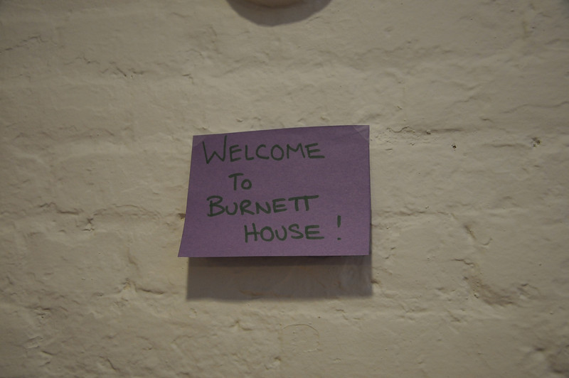 Situated conveniently between the Lion's Den (the old Dixon Room) and the new Center space is the new Burnett House facility.
