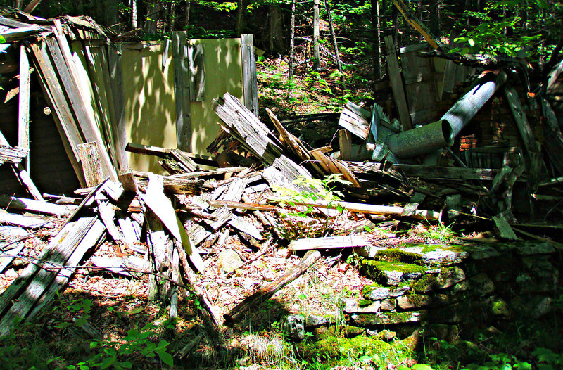 Old hut on the OH Trail.
