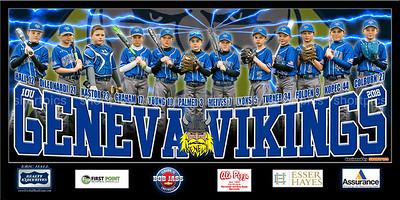 2018 10U Geneva Baseball Kastor