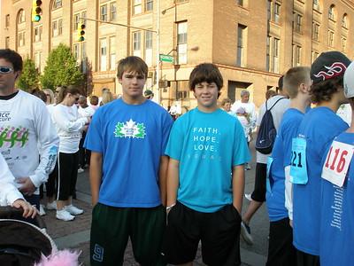 Race for Cure September 28, 2008