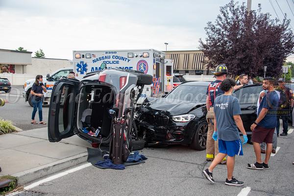 Garden City Park Overturned Auto 08/31/2021