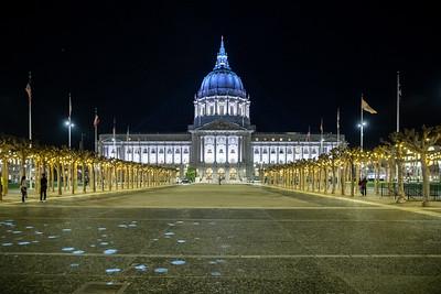 San Francisco during Corona virus pandemic